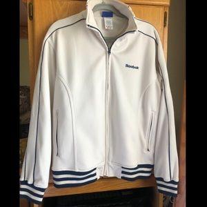 Clean looking Reebok classics track jacket.